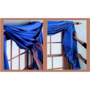 Как задрапировать шторы: варианты оформления