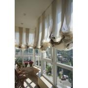 Какие шторы лучше повесить на балкон?