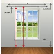 Как подобрать размер штор на окно?