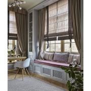 Как правильно выбрать размер римских штор на окно?
