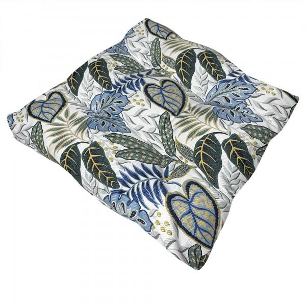 Подушка для сидения LEAVES BLUE в Украине