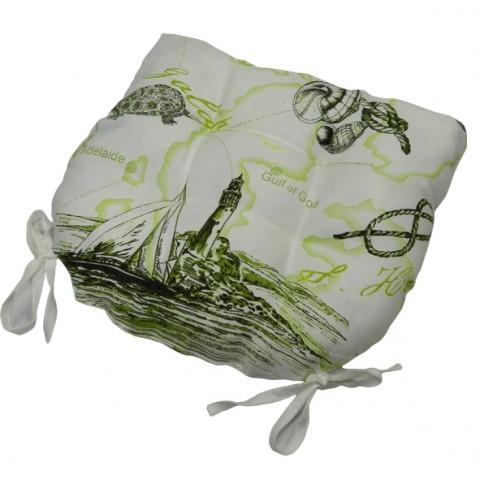 Подушка для сидения SEA GREEN THREAD