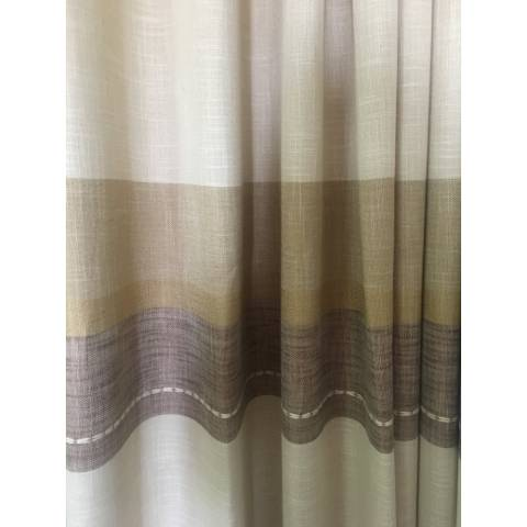 Штора LEN STRIPE NEW BROWN в Украине