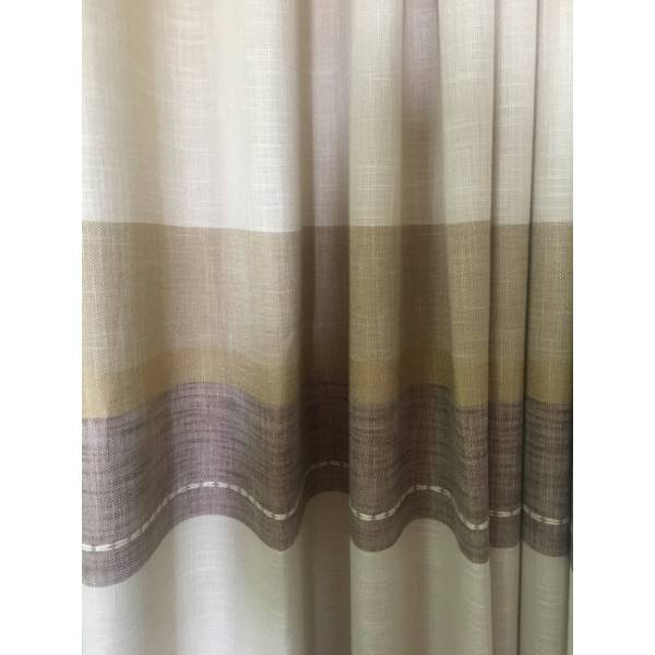 Штора LEN STRIPE NEW BROWN